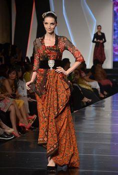 Model Batik Modern Paduan Kebaya