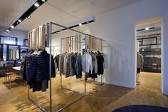 Sun68 flagship store & showroom by C Architetti, Milan store design