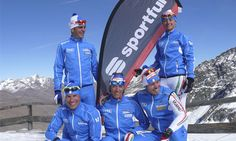 Italian xc ski team wearing Sportful clothing