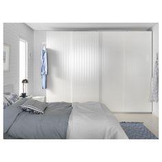 IKEA BERGSFJORD pair of sliding doors