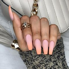 Pretty 80 Nail Art Design Ideas Make You Beautiful in Winter – BestBabyAZ – Part 42 - Women's Life Guide Glam Nails, Glitter Nails, Cute Nails, Pretty Nails, Best Acrylic Nails, Summer Acrylic Nails, Spring Nails, Hair And Nails, My Nails
