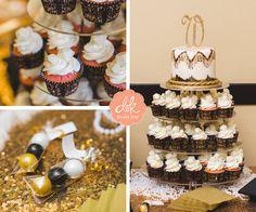 Cake topper and cupcakes! #weddingcakes #abilenetexas
