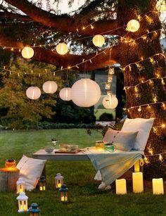 Cool 49 Beautiful Outdoor Lighting Design Ideas. More at http://homenimalist.com/2018/03/06/49-beautiful-outdoor-lighting-design-ideas/