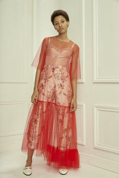 Tulle dress STELLA MCCARTNEY PRE-FALL 2016 Lineisy Montero