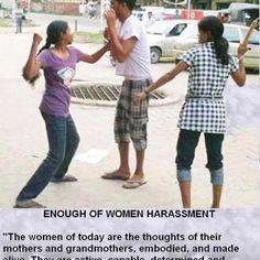 stop women harrasment