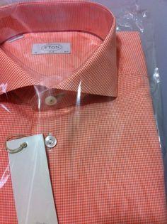 ETON Sweden brand Gorgeous Luxury Shirt 16.5/42 slim (Last stock) NWT$295+tax #Eton