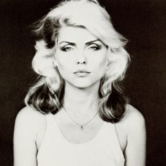 Deborah Harry by Robert Maplethorpe