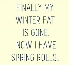 """Has your """"winter fat"""" turned into """"spring rolls"""" ??   Are you ready to stop renaming """"those extra pounds"""" and actually start doing something about it ??    Then our FREE 30 Day Healthy Eating """"Plus"""" challenge is for you >> https://www.facebook.com/events/201296323698597/  Checkout everything you'll get :  - - Access to workouts you can do at home (most are about 30 min.).  - Access to a simple meal plan  - An amazing healthy recipe guide  - Me as your awesome coach keeping you on track"""