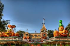 A Haunted Entrance  Halloween can sometimes be thought of as a diabolical holiday filled with evil spirits and gruesome characters, but not at Disneyland. During Halloween Time, there is a sense of wacky spirit and goulish fun throughout...    Read more here at Tours Departing Daily