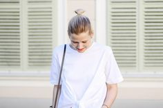 tifmys – Zara knotted shirt.