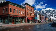"""Telluride's Mountainside Gourmet Boom >>> Telluride was voted """"One of the Best American Cities for Foodies"""" by Condé Nast readers."""
