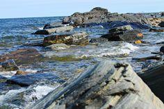 The sea...Sweden.