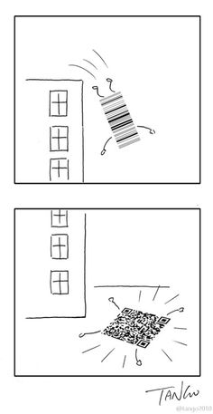 How QR codes are made