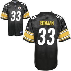 a7109fead Steelers  33 Isaac Redman Black Embroidered NFL Jersey! Only  18.50USD