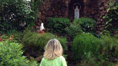 Mi Virgen de Lourdes me sale al encuentro en Chennai(India) Es increíble,pero cierto,siempre sale a mi encuentro