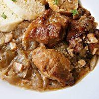 Recept : Zlínský moravský vrabec | ReceptyOnLine.cz - kuchařka, recepty a inspirace Pork, Food And Drink, Beef, Dinner, Cooking, Recipes, Kitchens, Kale Stir Fry, Meat