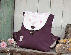 """Backpack """"Indi"""" by FoxyCraftsBags на Etsy"""
