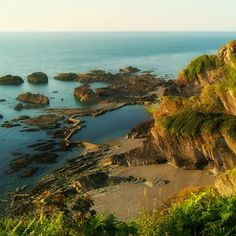 Tunnels Beach, Ilfracombe, Devon