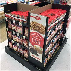 Betty Crocker Comprehensive Baking Island Display Retail Fixtures, Store Fixtures, Price Chopper, Betty Crocker, Baked Goods, Pallet, Bakery, Display, Island