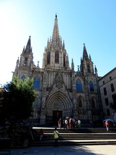 Barcelona Cathedral - Gothic cathedral and seat of the Archbishop of Barcelona Spain - SoloTripsAndTips.com