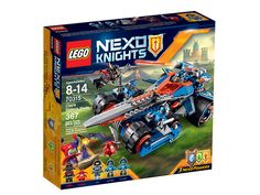 LEGO Nexo Knights Clay's Rumble Blade (70315)
