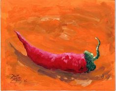 RED HOT CHILI PEPPER Happy Cinco De Mayo by jimsmeltzgallery, $5.00
