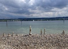 Steinkunst am Bodensee / Stone sculptures at Lake Constance