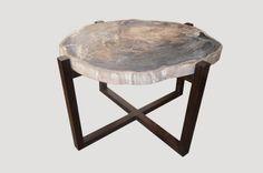 Petrified Wood Furniture - High Quality Petrified Wood Collection - Andrianna Shamaris