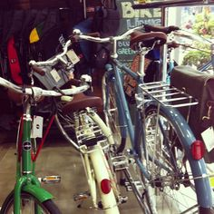 Spokes Urban (hwww.spokes.com.br/) / Rua Augusta, 1492 loja 12 -Consolação, SP / Uma pequena loja com as bikes mais legais de São Paulo. Por @Bia Andreucci