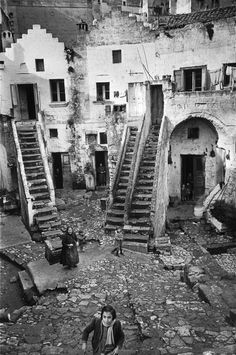 "greeneyes55: "" Basilicata Pisticci Italy 1951 Photo: Henri Cartier Bresson """