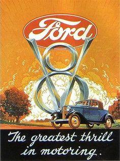 1932 Ford V-8 Ad