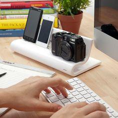 ThinkGeek :: Converge - USB Charging Hub - Nice clutterless charging station