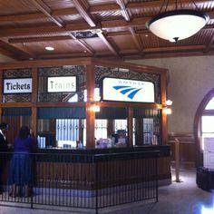 Amtrak station: Kalamazoo, MI