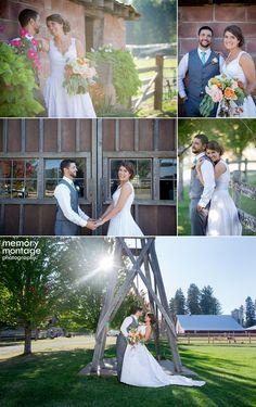 memory montage photography - BLOG: Lauren + Bryan || Wedding at Ritter Farms