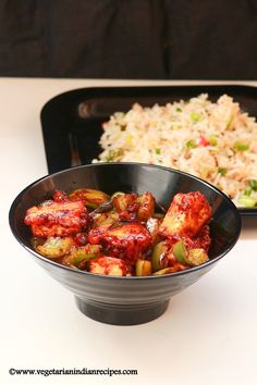 Chilli paneer is an Indo chinese recipe made with paneer.  It is very easy to prepare at home and can be served with fried rice
