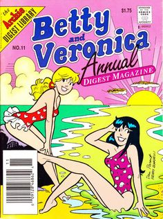GCD :: Cover :: Betty and Veronica Annual Digest Magazine #11