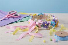 How to Make a Felt Flower Headband #easter #kids #craft #headband #flower