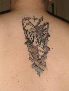 DNA / Clock Tattoo by Antal Tamási @ Tyutyu Tattoo