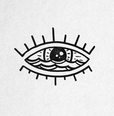 Tatto Ideas & Trends 2017 - DISCOVER Form heart with iris highlights. Bild Tattoos, Neue Tattoos, Easy Drawings, Tattoo Drawings, Handpoke Tattoo, Eye Logo, Future Tattoos, Tattoo Inspiration, Design Inspiration