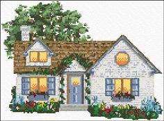 Cross Stitch | Cottage xstitch Chart | Design
