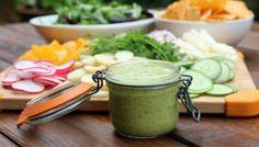 Aderezo de aguacate {con limón y cilantro}