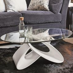 Cheap Glass Coffee Table – Why Buying Online Makes Sense Home Decor Furniture, Table Furniture, Furniture Design, Tea Table Design, Geometric Furniture, Modern Bedroom Design, Modern Table, Glass Table, Living Room Designs