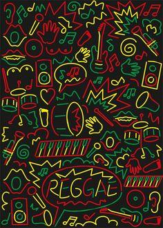 TARDE DE REGGAE Y SKA lunes a viernes desde las 18 horas. Pone http://www.radiodelospueblos.blogspot.com.ar/ o www.radiodelospueblos.com  y escúchanos por internet !!!  Li Mingliang, Reggae poster contest, 2013