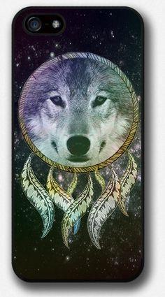 Dreamcatcher, Wolf iPhone Case