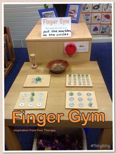Finger Gym Activities