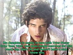 17 Parents Confess The Painfully Funny Secrets Their Kids Are Trying To Hide.... who doesn't do this? HE'S TYLER POSEY!