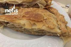Patlıcanlı Arnavut Böreği Tarifi nasıl yapılır? 495 kişinin defterindeki bu tarifin resimli anlatımı ve deneyenlerin fotoğrafları burada. Yazar: özge