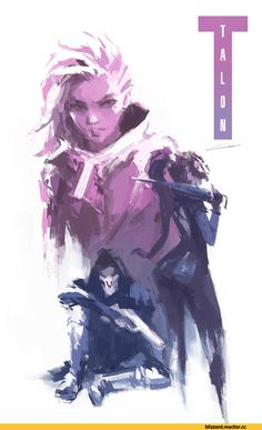 Items similar to Sombra Art Print (Overwatch) // Two Variations // Gamer Gifts // Talon: Sombra, Reaper, Widowmaker on Etsy Overwatch Widowmaker, Overwatch Fan Art, Overwatch Drawings, Overwatch Comic, Overwatch Memes, Game Character, Character Design, Film Manga, Fantastic Four