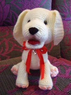 Amigurumi cachorro perrito labrador - artesanum com