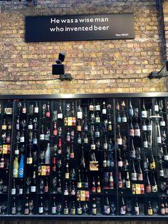 2be Beer Wall (Bruges, Belgium)